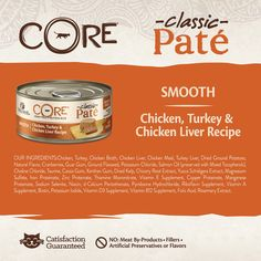 Wellness CORE Natural Grain Free Wet Canned Cat Food Chicken and Turkey 5.5Ounce Can pack of 24 *** Click image to review more details. (This is an affiliate link and I receive a commission for the sales) #CatFood