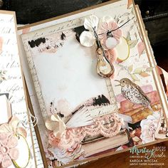 Junk Journal, Mini Albums, Gallery Wall, Paper Crafts, Photo And Video, Frame, How To Make, Handmade, Scrapbooking