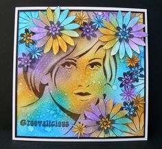 A project created with the Groovin' 60's collection from Sheena Douglass. #crafterscompanion