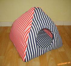 Домики для кошек с выкройкой. Как сшить домик для кошки или собаки из ткани