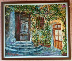 Rusztikus bútorok közé. Fal, Painting, Painting Art, Paintings, Painted Canvas, Drawings