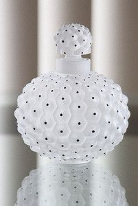 Lalique Crystal (Free W/wide Shipping): CACTUS No 1 PERFUME BOTTLE 10.82oz