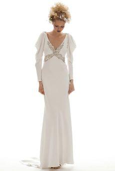 Grecian style wedding dress by Arielle #greek #wedding #dress #inspiration