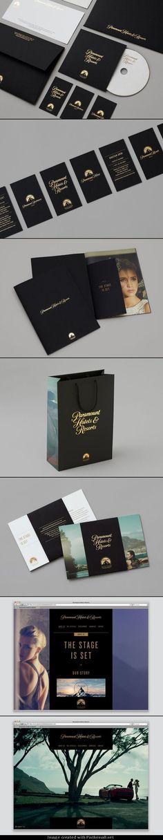 Paramount Hotels & Resorts – Luxury Brand Identity by & SMITH