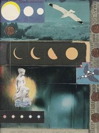 View Penny Arcade By Joseph Cornell; Gouache, printed paper collage and pennies on board; Access more artwork lots and estimated & realized auction prices on MutualArt. Collages, Collage Art, Joseph Cornell Boxes, Penny Arcade, Pastel, Assemblage Art, Box Art, Art Boxes, Gouache