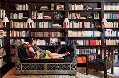 Diane von Furstenberg's Paris apartment. Designer Francois Catroux.