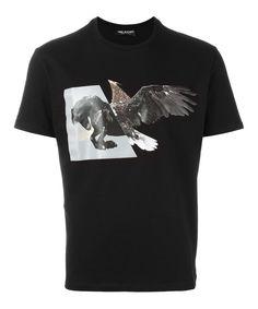 NEIL BARRETT Neil Barrett Men'S Bjt1721B545S01 Black Cotton T-Shirt'. #neilbarrett #cloth #t-shirts
