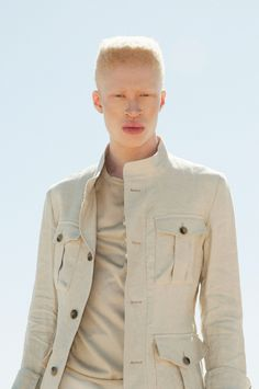 César Segarra, the Barcelona based fashion photographer, invites us to discover his newest online venture signed by Estudio Vixen. To celebrate its launch, we're featuring his exclusive editorial with Shaun Ross styled by Faustina Rose. Shaun Ross, Stephen Thompson, African American Models, Best Mens Fashion, Male Fashion, Rockaway Beach, Albinism, Black Models, Shades Of Black