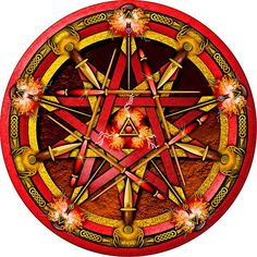 Elemental Pentacle for Fire