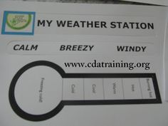 This Weather Station could be adapted to a feelings thermometer.
