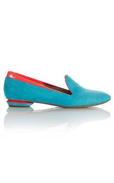candy colored loafers~Nicholas Kirkwood you've done it again