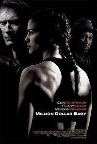 """Million Dollar Baby (2004). Awesome, classic movie. One of Clint's best. Also, loved """"Bridges of Madison County""""."""