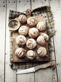 My Daily Bread, Pain Au Levain, Sourdough Bread, Artisan Bread, Bagels, How To Make Bread, Food Design, Bread Baking, Food Inspiration