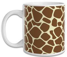 Caneca Animal Print Girafa