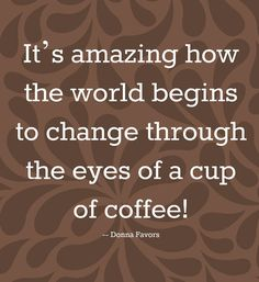 The power of #coffee