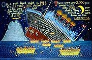 Peter Selgin's cool, great, amazing painting series of the ship Titanic.