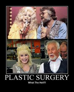 Plastic surgery smh   People should lay off plastic..really..seriously...