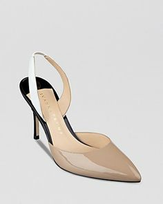 IVANKA TRUMP Pointed Toe Pumps - Halter Back High Heel | Bloomingdale's