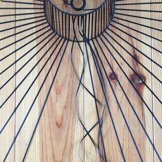 Cette suspension homemade est partie de la profonde admiration que jai pour celle de Constance Guisset, la Vertigo. Jai fini par me lancer le défi de men inspirer pour en réaliser une moi-même, avec mes petits doigts et mon petit matériel de bricolgirl. Voici comment je my suis prise.