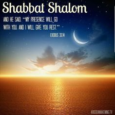 Shabbat shalom brothas and sistas. Get that rest and get that WORD