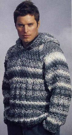 d2f7d14b4 MADE TO ORDER men s Sweater hooded aran men hand knitted sweater cardigan  pullover men clothing handmade