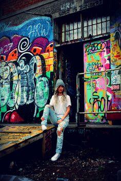 idkuva Street Art, Street Style, Street Fashion, Times Square, Painting, Urban Apparel, Painting Art, Street Style Fashion, Paintings