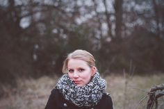 Chunky Key In Lock Cable Knit Cowl. $55.00, via Etsy.
