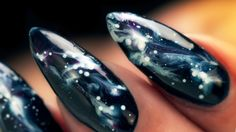 Galaxy Nails - Step by Step Tutorial