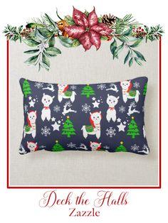 Rest your head on one of Zazzle's Merry Christmas decorative & custom throw pillows. Custom Pillows, Decorative Pillows, Lumbar Pillow, Throw Pillows, Llama Christmas, Cute Llama, Pillow Quotes, Llamas, Merry Xmas