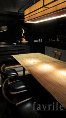 #實木餐椅-三井日本料理