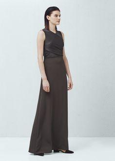 Vestido drapeado | MNG