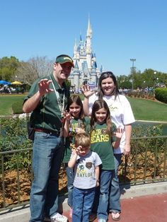 #Baylor Proud at Disney ! So doing this on our next trip to disney!!!
