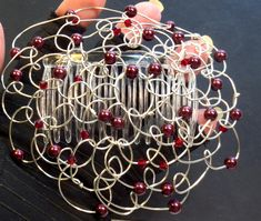Brit Milah, Tree Of Life Necklace, Rosh Hashanah, Beads And Wire, Bat Mitzvah, Handmade Design, Mother Day Gifts, Hanukkah, Burgundy