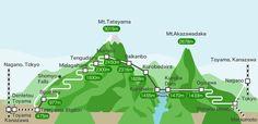 History of Tateyama and the Alpine Route   Tateyama Kurobe Alpine Route