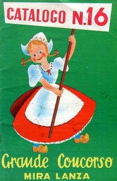 catalogo - punti mira lanza - anni '60s by sonobugiardo, via Flickr Olandesina della Mira Lanza '60/'70