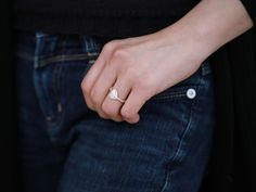 Cupid ring/ by Chao & Eero. Contemporary jewelry design brand, Finland. #cupid #chaoandeero #finland #finnishdesign