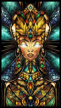 Nefertiti by Mandie Manzano