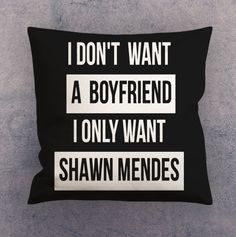 Pillow cases - Shawn Mendes Quotes #Unbranded