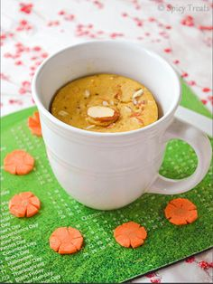 Only thing I use my microwave for - mug cake.  Carrot Cake in a Mug. (Make it Vegan with OJ instead of milk!) Additional note - I double the cinnamon & ginger, and double or triple the carrot.