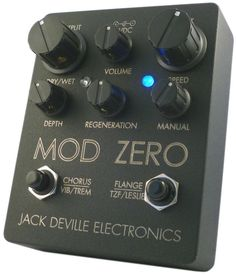 Jack Deville Electronics Mod Zero Analog Modulator pedal