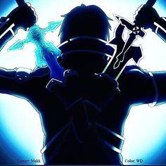 An awesome Virtual Reality pic! My favourite anime of all time #SAO #Swordsman  #MMORPG  #Kirito #Kazuto #kirigaiya #elucidator #darkrepulsor #virtualreality #live #survive by anime_sao_soul18 check us out: http://bit.ly/1KyLetq