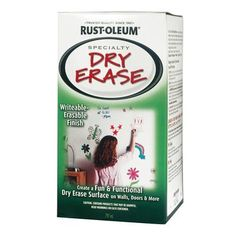 Dry Erase Paint!!! This would be great on the walls in children church and possibly in the youth room. prayer requests...what God is to  you...etc.