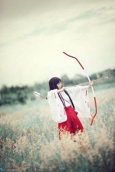 Inuyasha-Kikyou by ~Ganedia