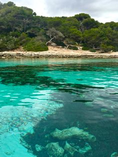 Menorca beaches - the clear waters close to Marcarella