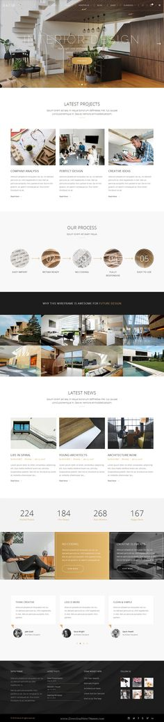 Ratio is Powerful WordPress Theme for Architecture, Construction, and #Interior #Design #website. Download Now!