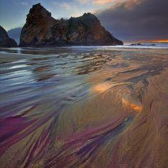 Purple Sand Beach, Pfeiffer Beach, California