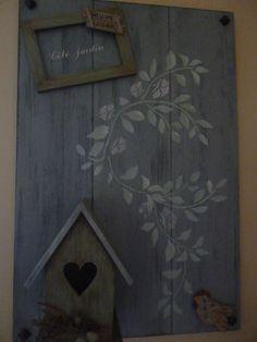 Atelier Home Déco avec Christiane...