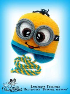 Группа Crochet Animal Hats, Knitted Hats, Knitting For Kids, Baby Knitting, Crochet Crafts, Crochet Projects, Funny Beanies, Fleece Hats, Crazy Hats