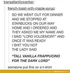 Starbucks for the win!