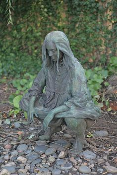 Kiki Smith sculpture at Grounds for Sculpture by alicia954, via Flickr